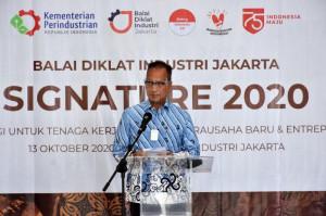 Kunjungan Menteri Perindustrian dalam Acara BDI Jakarta SIGNATURE 2020